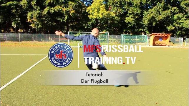 Torschusstechnik Flugball